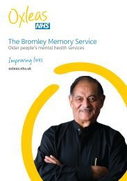 The Bromley Memory Service