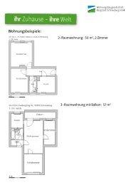 Wohnungsbeispiele: - Wohnungsbaugesellschaft Bergstadt ...