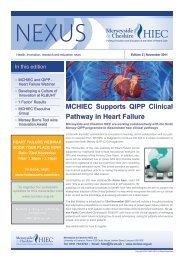 NEXUS - Edition 2, November 2011 - Wirral University Teaching ...