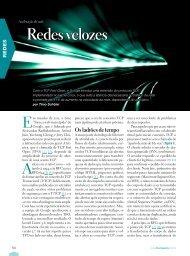 Redes velozes - Linux New Media