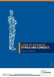 Code of Business Ethics and Conduct - EthicsPoint