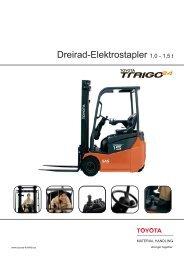 Dreirad-Elektrostapler 1,0 - Toyota Material Handling Europe - Logon