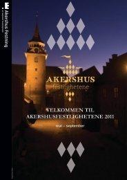 Program Akershusfestlighetene 2011 - Forsvarsbygg