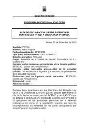 PROGRAMA DISCRECIONALIDAD CERO ACTA DE ...