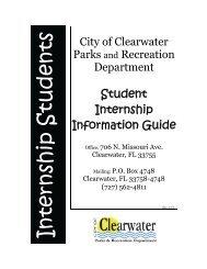 Student Internship Information Guide - City Home