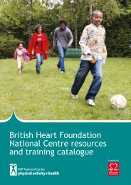 Download the BFHNC resources and training catalogue