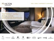 Portfolio Hilton Hotels Germany - eibtm