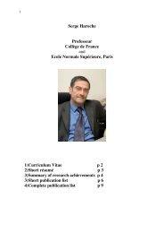 Haroche-Curriculum-R.. - Electrodynamique des systèmes simples