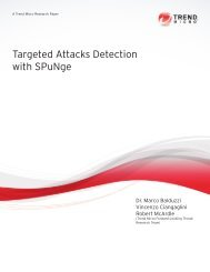 Read Targeted Attacks Detection with SPuNge - Trend Micro