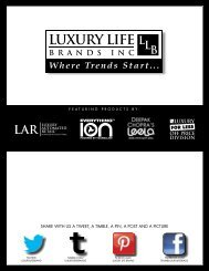 to Download the Catalogues for Public - Luxury Life Brands