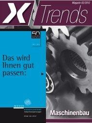 Trends Magazin 02/2012 Maschinenbau - Energie Impuls OWL eV