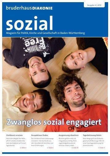 Zwanglos sozial engagiert - BruderhausDiakonie
