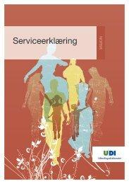 Serviceerklæring - UDI