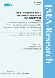 JAEA-Research-2013-029