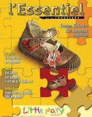 Dossier Enfants - l'Essentiel de la Chaussure