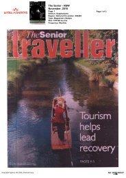 Senior Traveller - Areas Show Resilience - November 2010