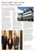 The Alfred Foundation: A Report to The Alfred ... - Alfred Hospital - Page 5
