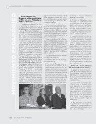 Movimiento Pedagógico - Revista Docencia