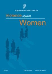 Report of the Task Force on Violence Against Women
