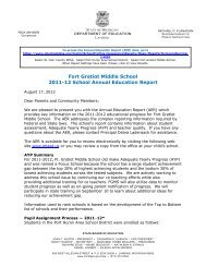 Annual Report - Port Huron Area Schools