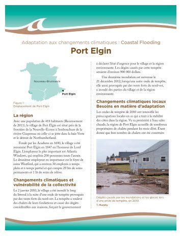 Port Elgin - Atlantic Climate Adaptation Solutions
