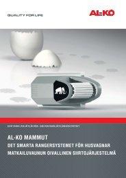 Flyer-Mammut SWE100630.indd - AL-KO