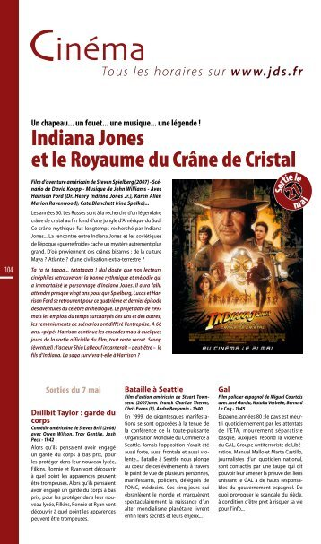 Indiana Jones - JDS.fr