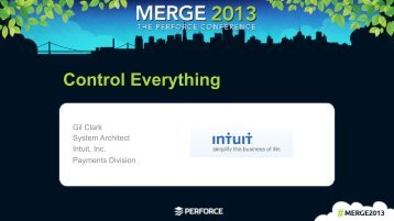 Control Everything - Perforce