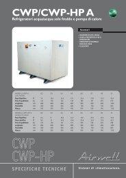 CWP/CWP-HP A - Certificazione energetica edifici