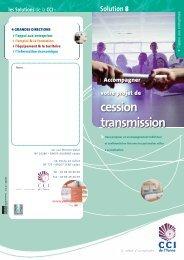 cession transmission - (CCI) de l'Yonne