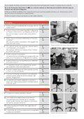 Lista di controllo: Arredi per postazioni di lavoro al videoterminale - Page 2