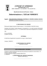 1232: realizzazione rassegna teatrale e teatro scuola 2013/14 ...