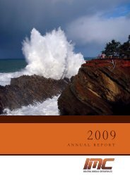 Annual Report 2009.pdf - Industrial Minerals Corp