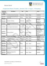 Postgraduate Masters timetable 2011 Sem 2- 100911 (no lecturer)