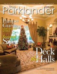 Pamper Guests - The Parklander Magazine