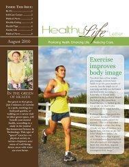 August 2010 Sample Newsletter - American Institute for Preventive ...