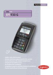 Ingenico EFT930 G