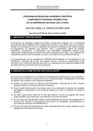 Pautas PROMAC - Facultad de Ciencias Veterinarias - Universidad ...