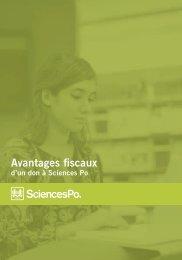 Avantages fiscaux 2012 - Sciences Po