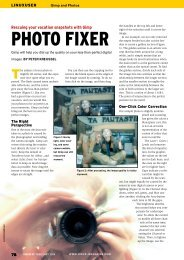 PHOTO FIXER - Linux Magazine