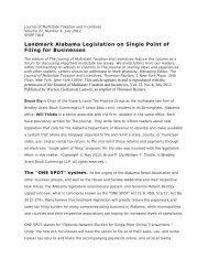 White Paper - Bradley Arant Boult Cummings LLP
