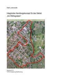 Integriertes Handlungskonzept - Stadt Luckenwalde