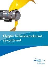 Flygtin hidaskierroksiset sekoittimet - Water Solutions