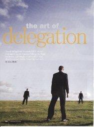 The Art of Delegation - Alex Blyth