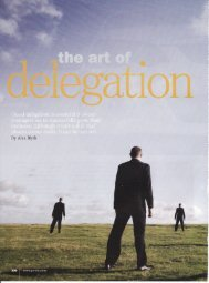 The Art of Delegation - Alex Blyth