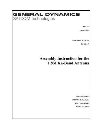 4096-668 - General Dynamics SATCOM Technologies