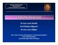 LESIONI BENIGNE - Aicod