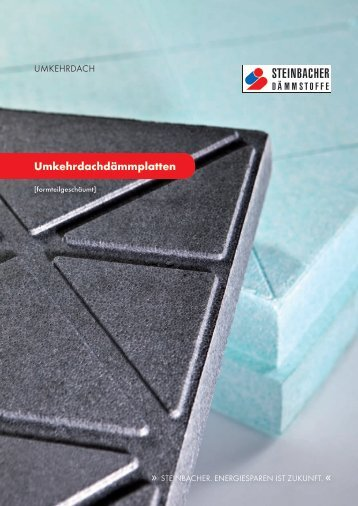Umkehrdach - Steinbacher Dämmstoffe