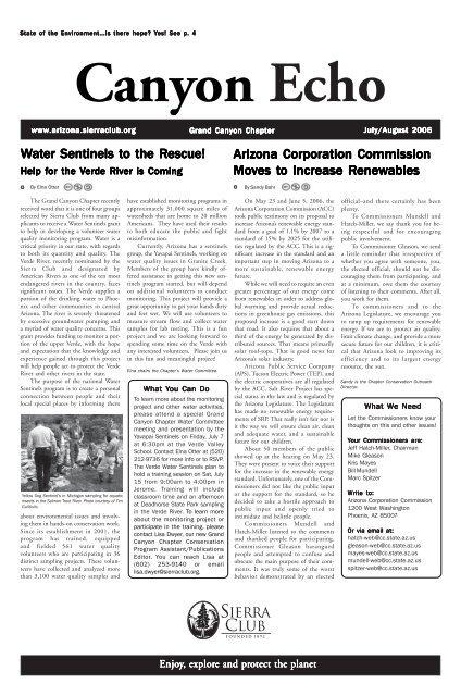 page 2 revisedmarch april 04 - Arizona Sierra Club