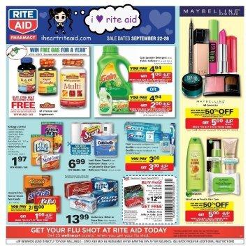 i heart rite aid: 09/22 - 09/28 ad